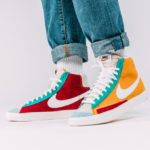 Nike Blazer Mid 77 Vintage WE Suede 'Noble Red Kinetic Green'