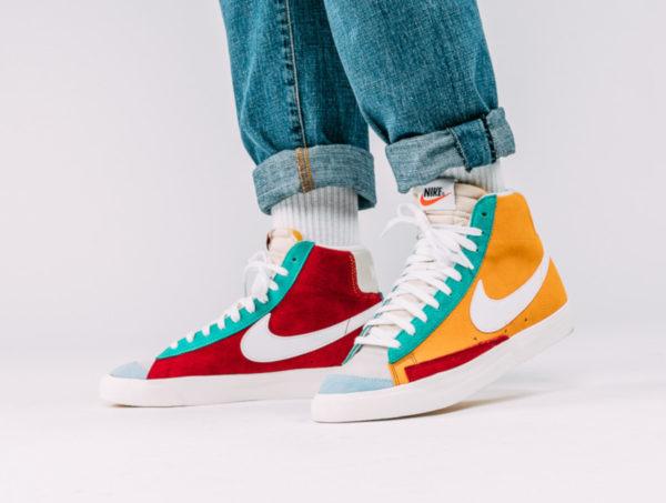 Nike Blazer Mid 77 VNTG Suede Multicolor CI1167-600