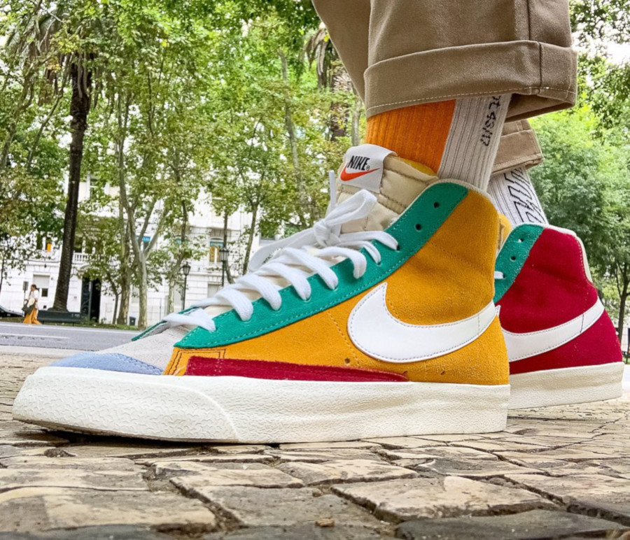 Nike Blazer Mid 77 Vintage Noble Red - @moon_walker_rsa