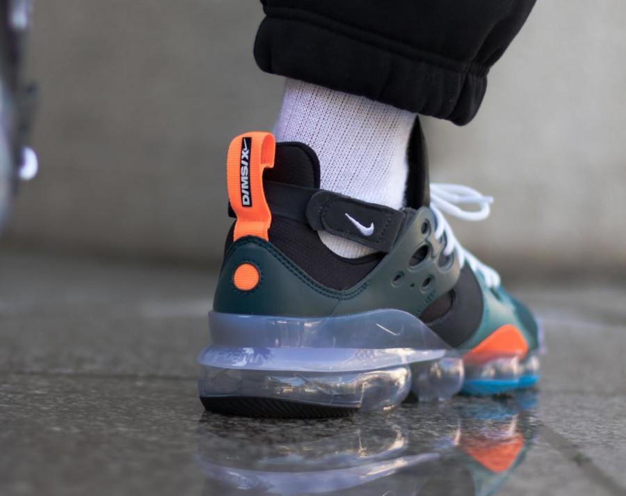 Nike Dimension Six Vapormax noire turquoise et orange (1)