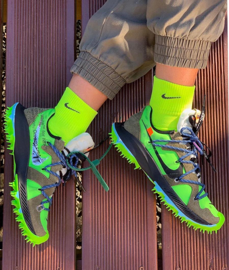 Nike Off White Terra Kiger Electric Green - @sallyssneakers
