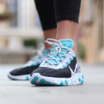 Nike React Element 55 SE Black Pure Platinum Teal Nebula