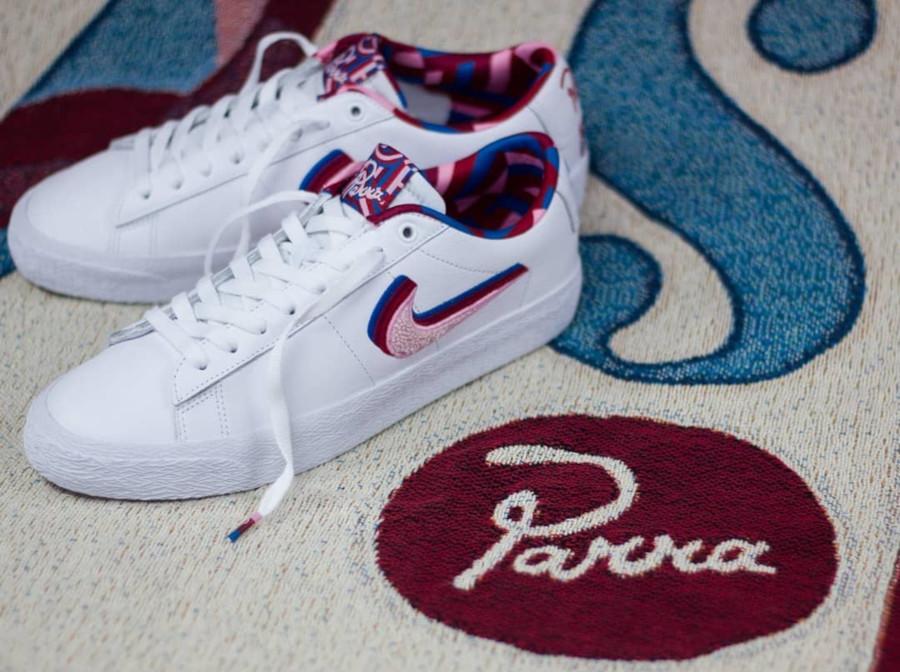 Nike SB Blazer Low GT White Pink Rise CN4507-100 (3)