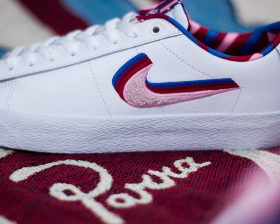 Nike SB Blazer Low GT White Pink Rise CN4507-100 (4)