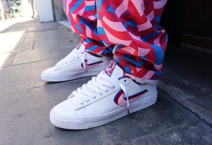 Nike SB Blazer Low GT White Pink Rise CN4507-100 (5)
