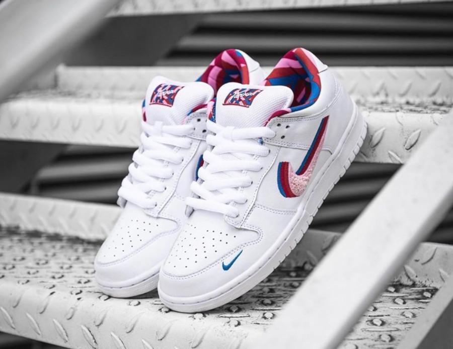 Nike SB Dunk Low Pink Rise CN4504-100 (1)