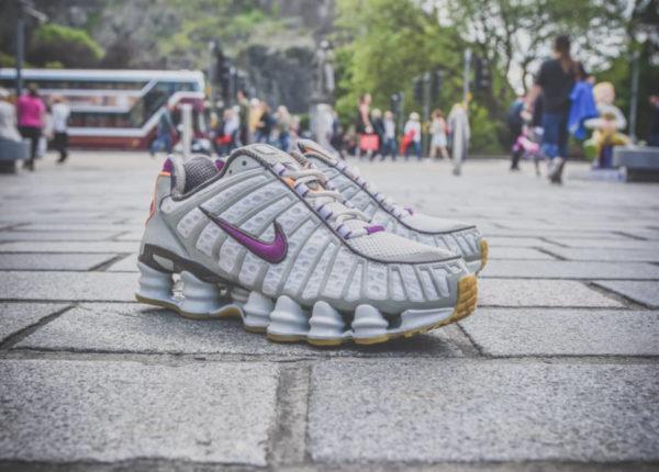Nike Shox Total grise et violet (exclusivité Size) (3)