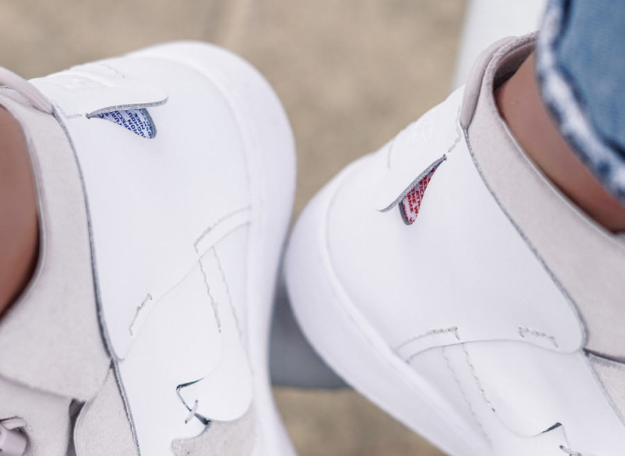 Nike Vandal Vandalised Lux blanche et grise (3)
