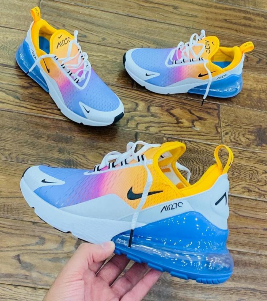 Nike Wmns Air Max 270 Pastel Rainbow Gradient AH6789-702