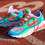 Nike Wmns Air Max 270 React Electro Green Flash Crimson