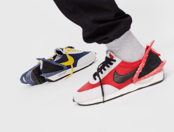 Nike Wmns Daybreak Undercover Uni Red & Obsidian