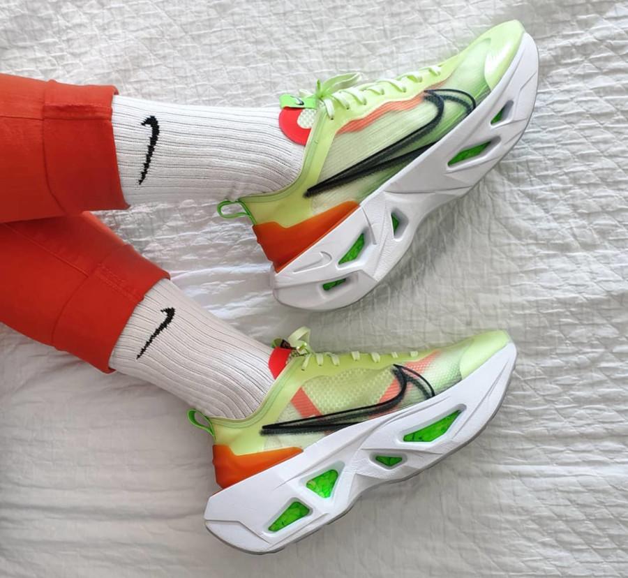 Nike Wmns ZoomX Vista Grind vert fluo (2)