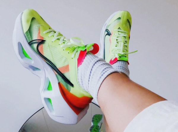 Nike Wmns ZoomX Vista Grind vert fluo (couv)