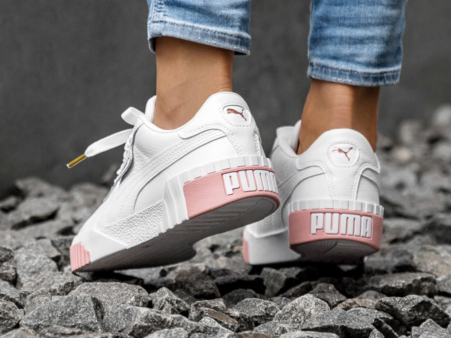 puma cali rose gold