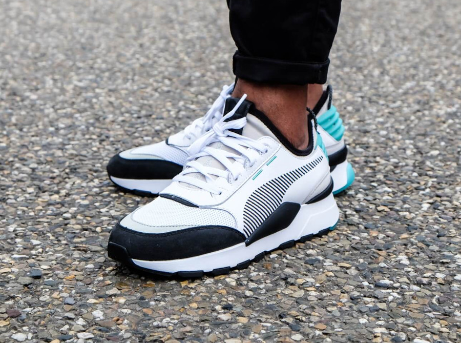 Puma RS-0 Re-Invention Biscay Green pas cher