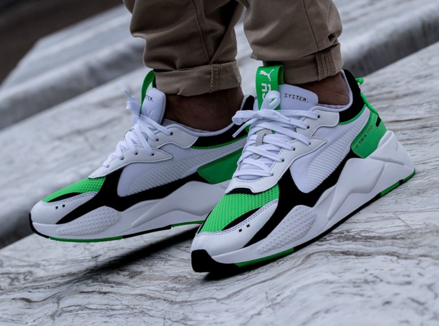 Puma RS-X Reinvention Irish Green pas cher