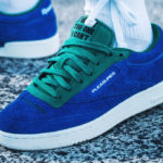 Pleasures x Reebok Club C 85 Vital Blue Green Chalk