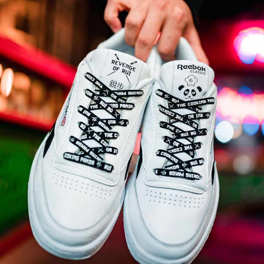 Reebok Club C 85 White Black EG9270 (2)