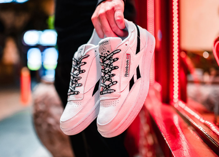 Reebok Club C 85 White Black EG9270 (3)