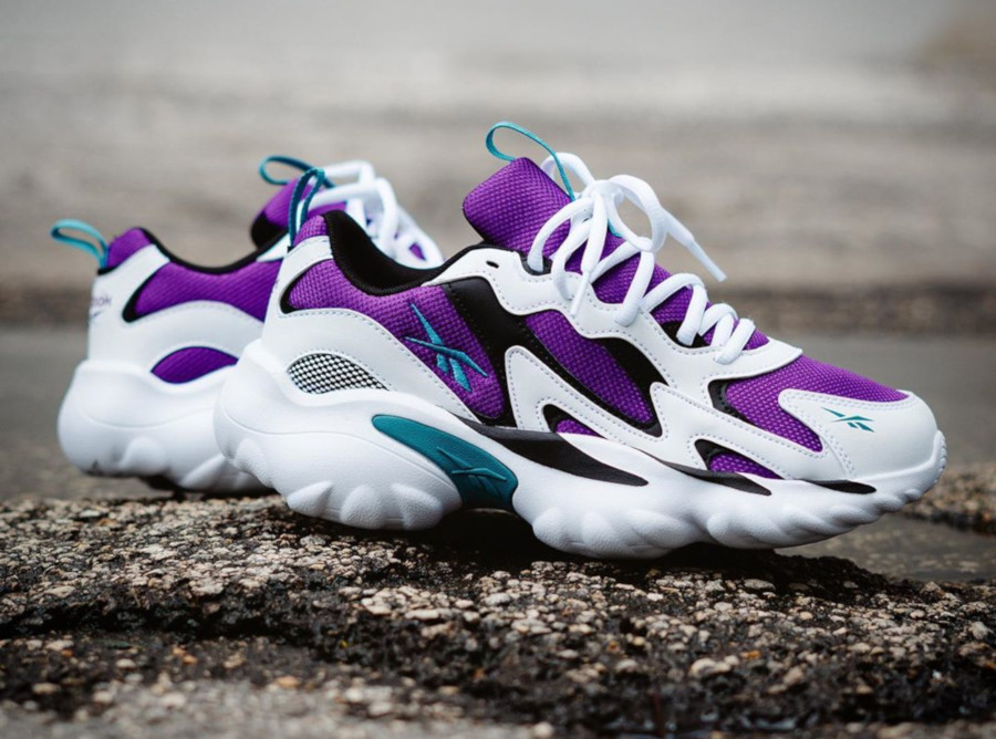 Reebok DMX Series 1000 Grape White Purple DV8743