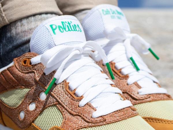 Sneakers Politics x Café du Monde x Saucony Shadow 5000 Beignet Sugar (1)