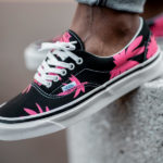 Vans Anaheim Factory Era 95 DX OG Black Pink Summer Leaf