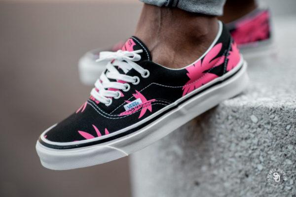 Vans Era 95 DX Anaheim Factory Black Pink Summer Leaf