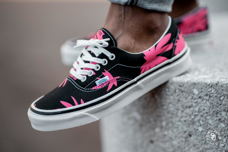 Vans Era 95 DX Anaheim Factory Black Pink Summer Leaf