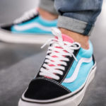 Vans Old Skool 36 DX Anaheim Factory 'OG Black OG Aqua'