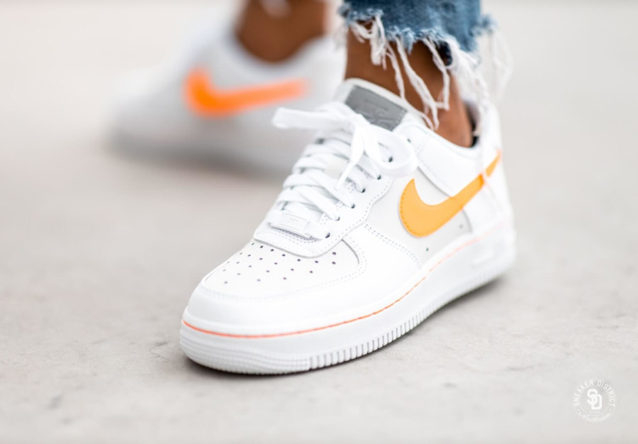 Faut il acheter la Nike Air Force 1 Lo Platinum Total Orange