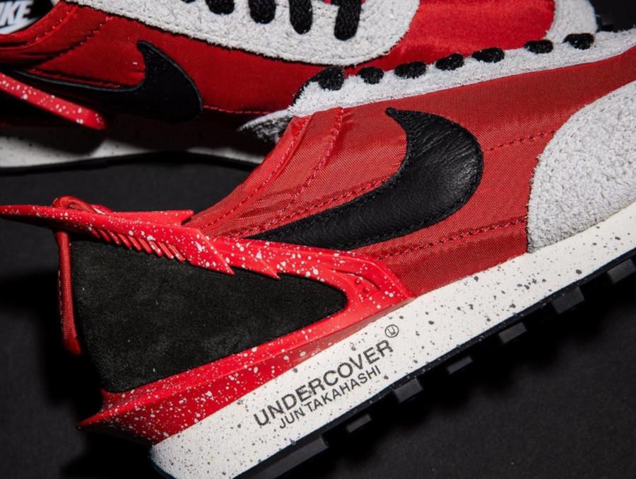 Womens Nike Daybreak rouge noire et grise CJ3295-600 (1)