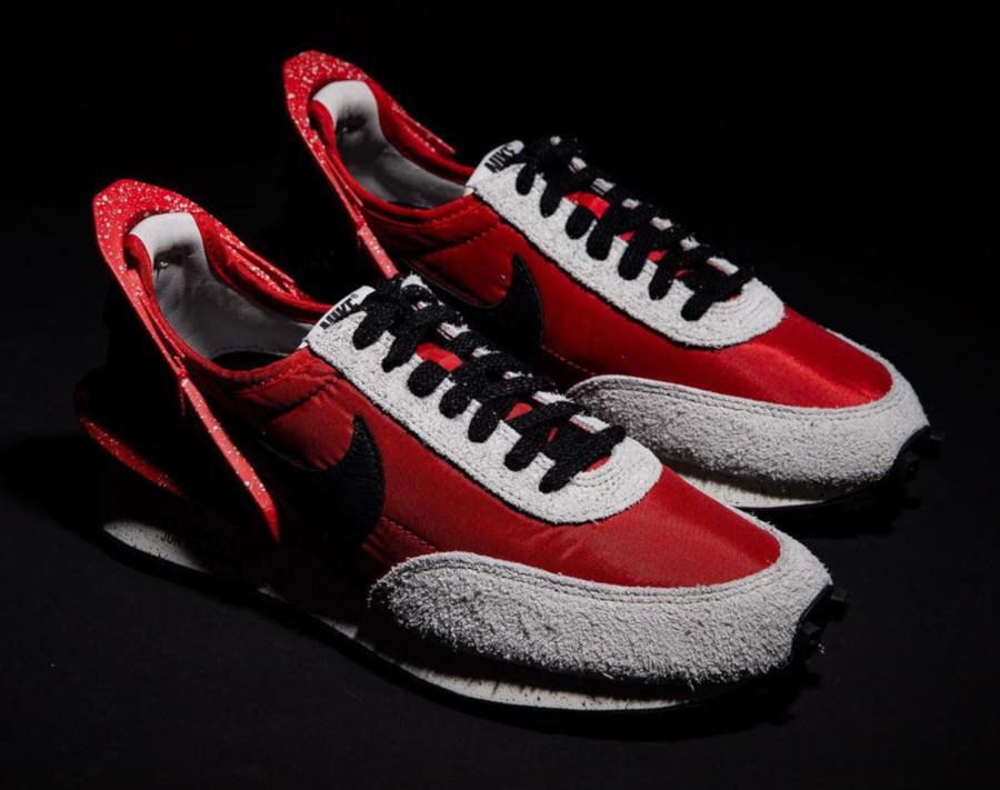 Womens Nike Daybreak rouge noire et grise CJ3295-600 (3)