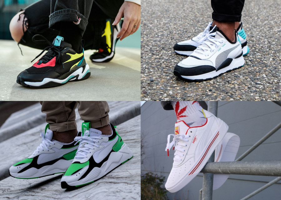 tout neuf 7a866 c96f4 6 sneakers Puma (Thunder Spectra, RS-X, Cali-0...) pas cher