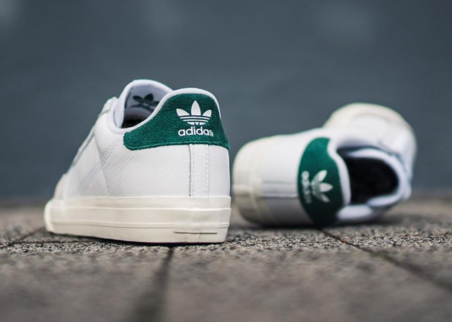 Adidas-Continental-semelle-vulcanisée-blanche-et-verte-3