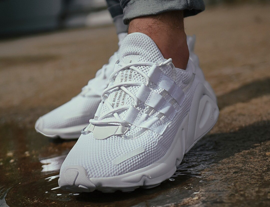 Faut-il acheter la Adidas Lxcon Adiprene Cloud White Black ...
