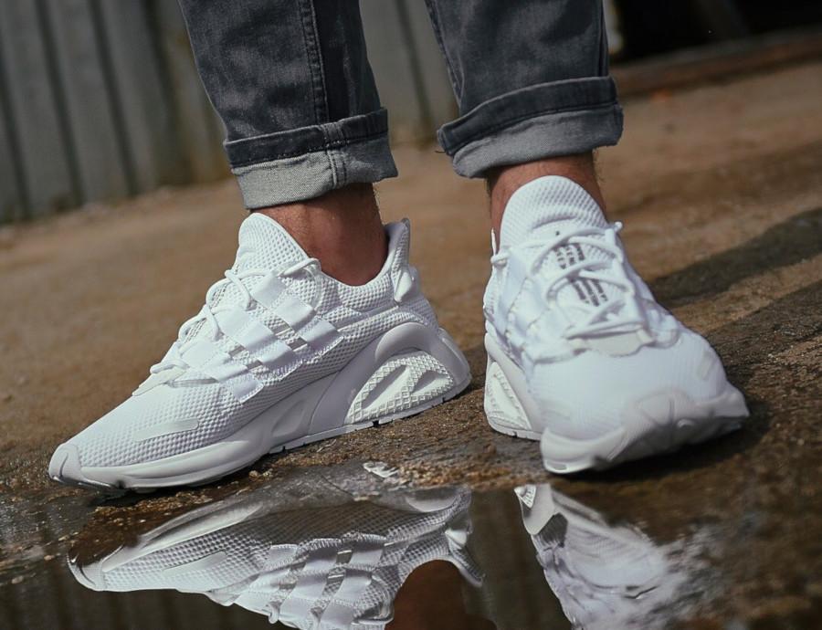 Adidas Lxcon blanche et noire (2)