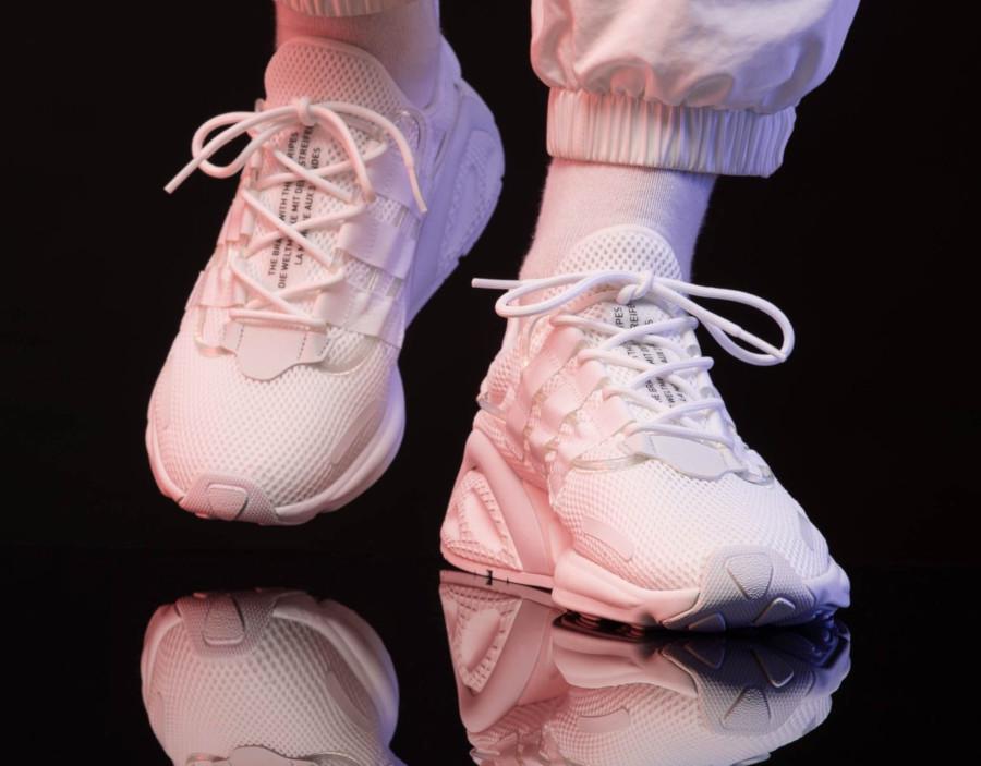 Adidas Lxcon blanche et noire (3)