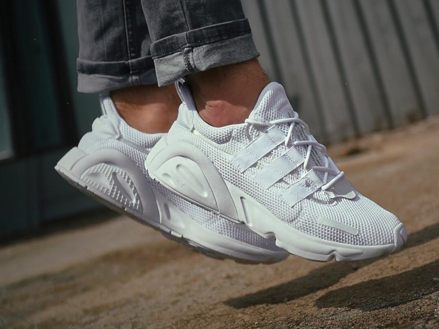 Adidas Lxcon blanche et noire (4)