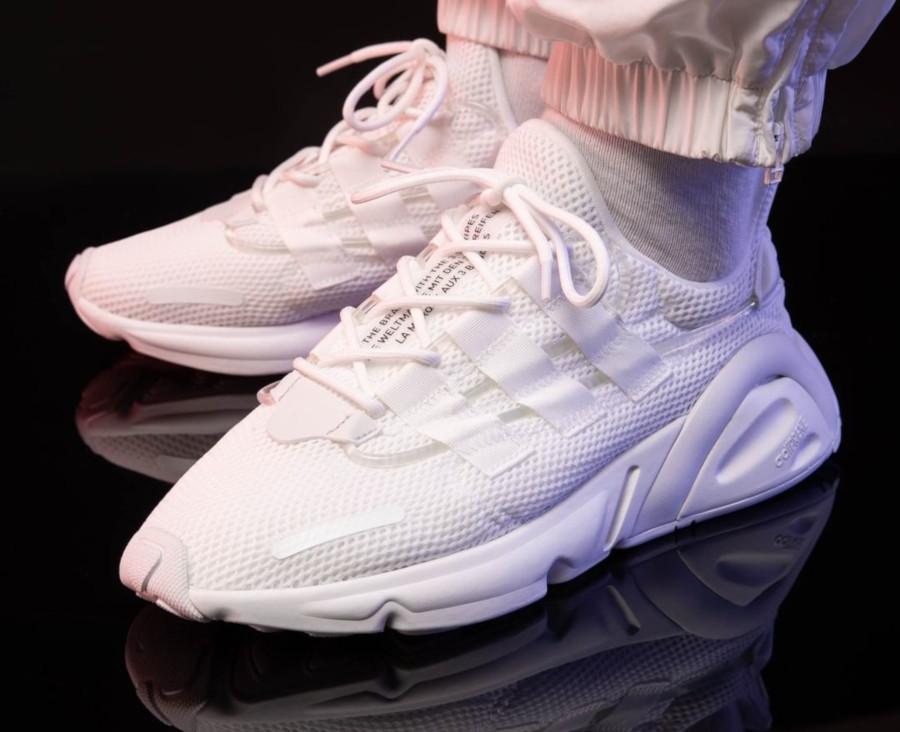 Adidas Lxcon blanche et noire (5)