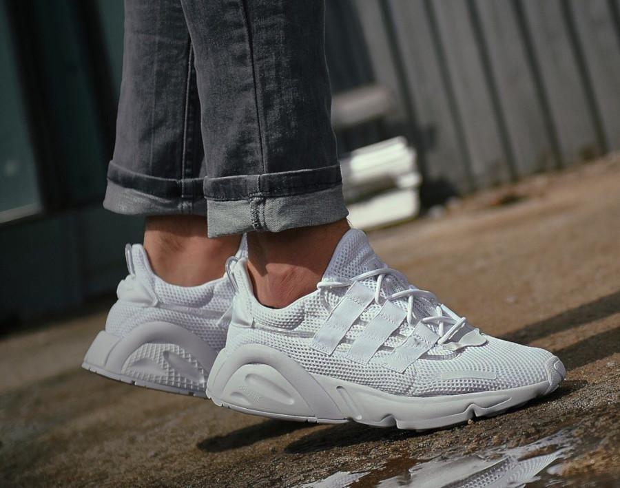 Adidas Lxcon blanche et noire (6)