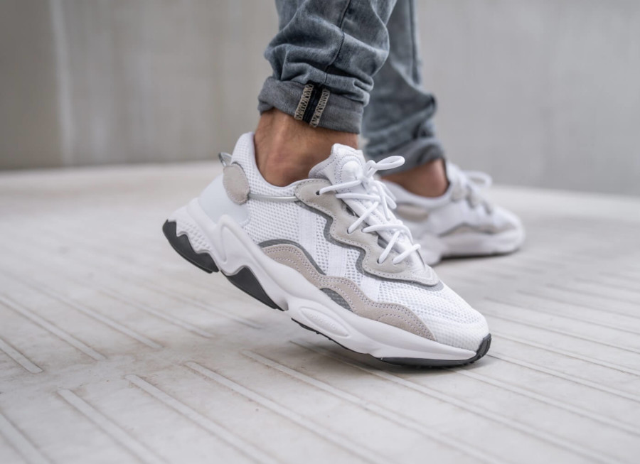 Adidas Ozweego 2019 blanche et grise (5-1)