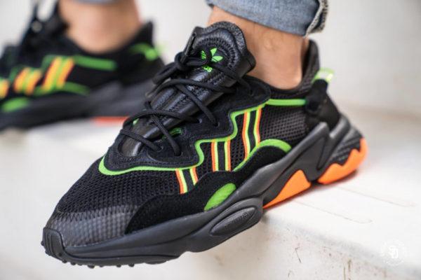 Faut-il acheter la Adidas Ozweego Black Solar Green Coral ...
