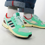 Adidas ZX 9000 OG Mint Scarlet Yellow (30 Years of Torsion)