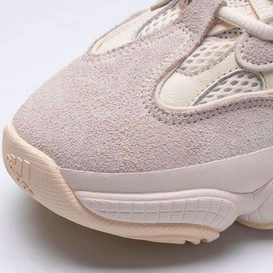Adidas Yeezy 500 blanc cassé et crème (3)