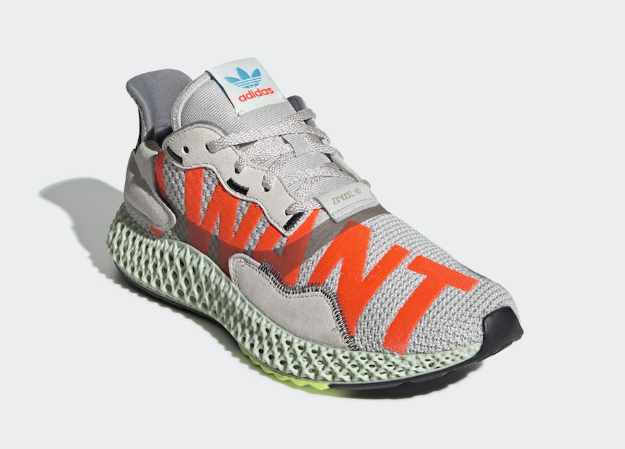 Adidas ZX 4000 4D I Want I Can