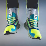 Adidas ZX 4000 4D Hi Res Yellow Easy Mint Linen Green