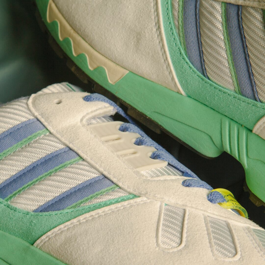 Adidas ZX 7000 blanche violet et vert turquoise (3)