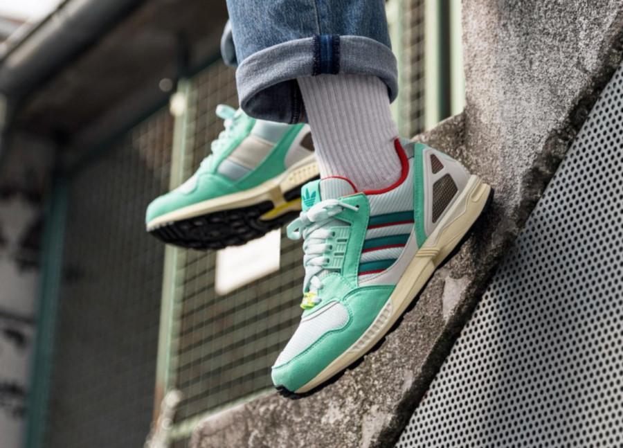 Adidas-ZX-9000-vert-menthe-et-rouge-3
