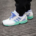 Adidas ZX 7000 OG White Lilac Green '30 Years of Torsion'