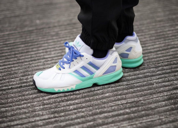 Adidas ZX7000 OG Lilac Torsion 30 Years FU8404